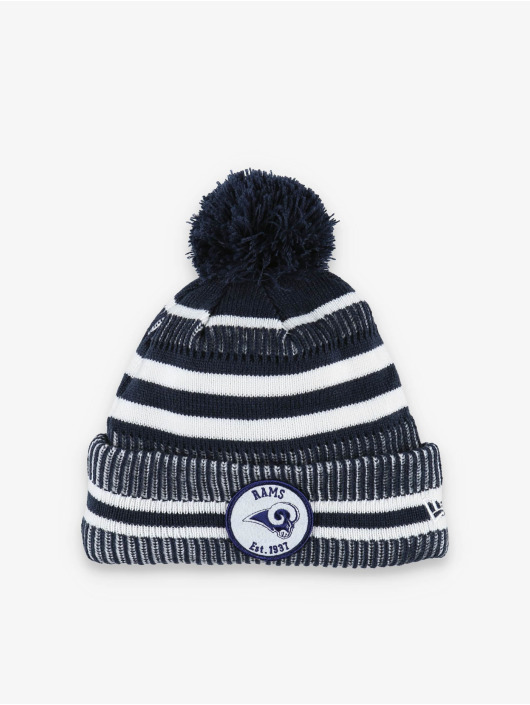 New Era Winter Hat NLF LA Rams Onfield Cold Weather Home blue