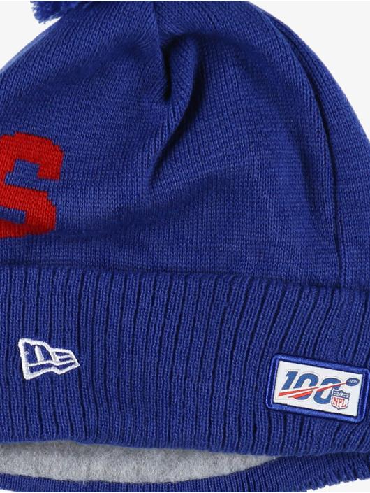 New Era Wintermütze NFL NY Giants Onfield Cold Weather Road blau