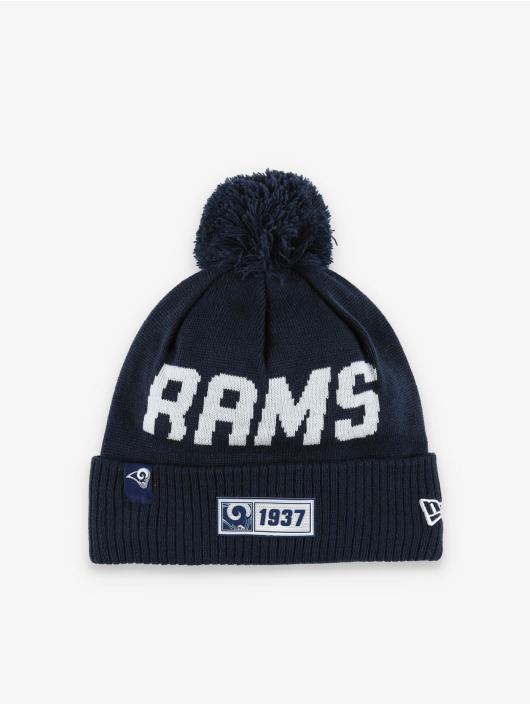 New Era Wintermütze NFL LA Rams Onfield Cold Weather Road blau