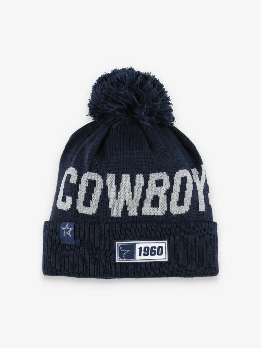 New Era Wintermütze NFL Dallas Cowboys Onfield Cold Weather Road blau