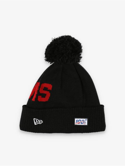New Era Wintermütze NFL Atlanta Falcons Onfield Cold Weather Road schwarz