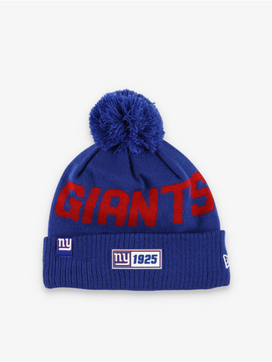 New Era Wintermuts NFL NY Giants Onfield Cold Weather Road blauw
