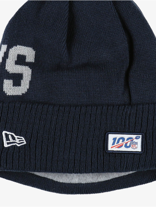 New Era Wintermuts NFL Dallas Cowboys Onfield Cold Weather Road blauw