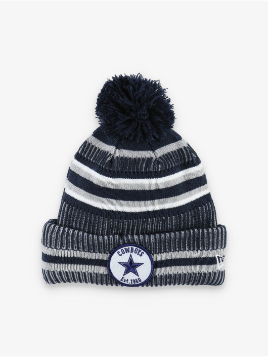 New Era Wollmützen NFL Dallas Cowboys Onfield Cold Weather Home modrý