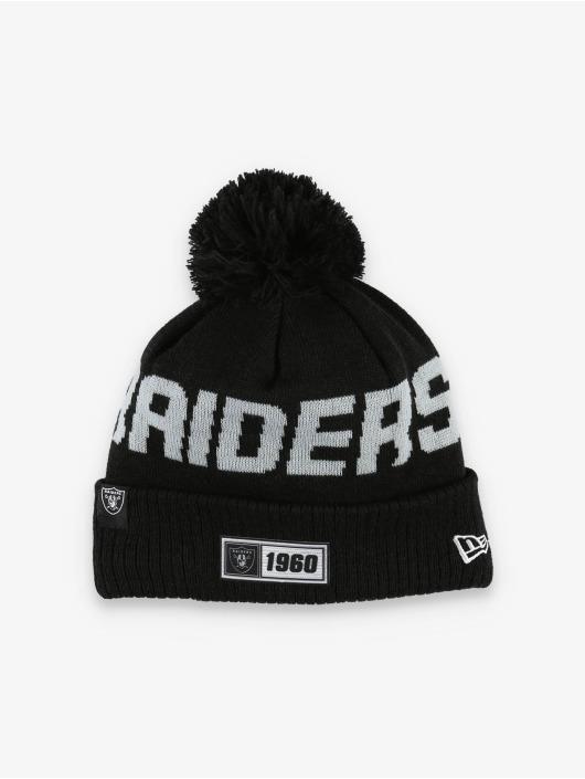 New Era Wollmützen NFL Oakland Raiders Onfield Cold Weather Road svart