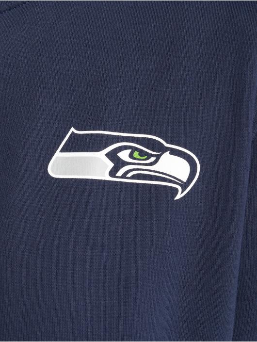 New Era Zip Hoodie NFL Team Seattle Seahawks blue