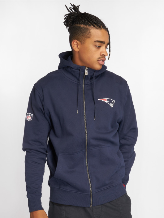 New Era Zip Hoodie NFL Team New England Patriots modrá