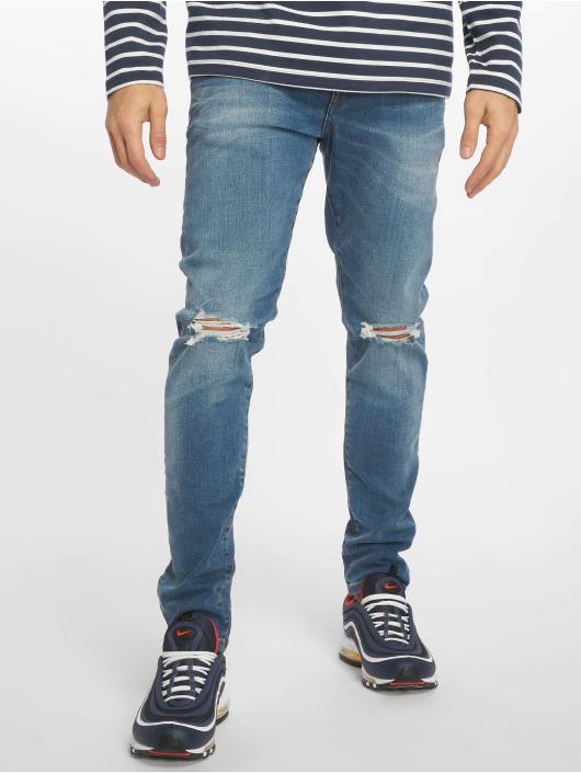 New Look Úzke/Streč Eugene Busted Knee modrá