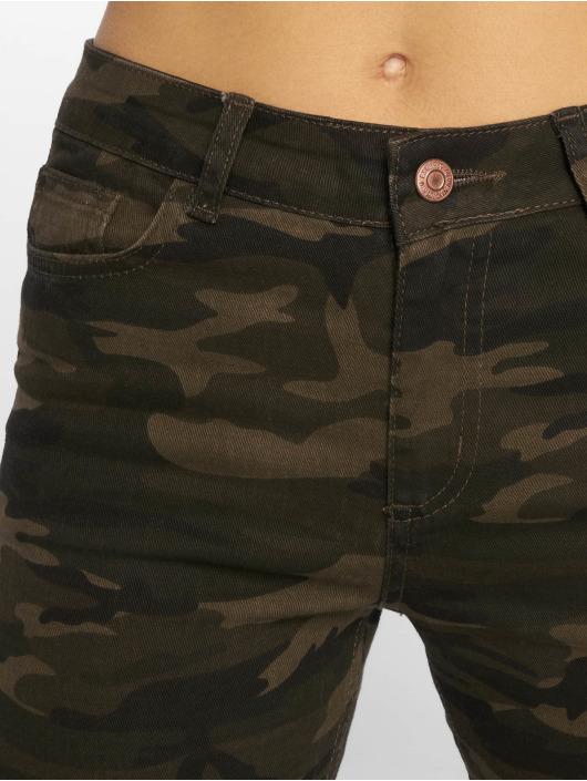 New Look Облегающие джинсы EC Camo Bangkok зеленый