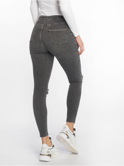 New Look Облегающие джинсы Vanessa Disco Sooty серый