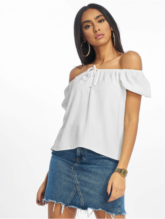 New Look Blouse & Chemise T Tilly Tie Front blanc