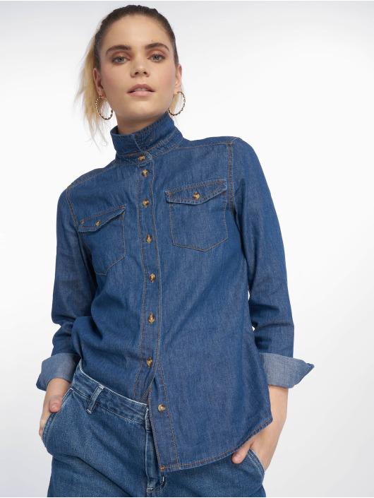 New Look Blouse AW18 LI Shirt Barnes blauw