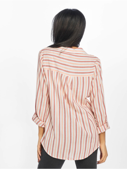 New Look Blouse/Tunic F Ricky Stripe 2 Pocket rose
