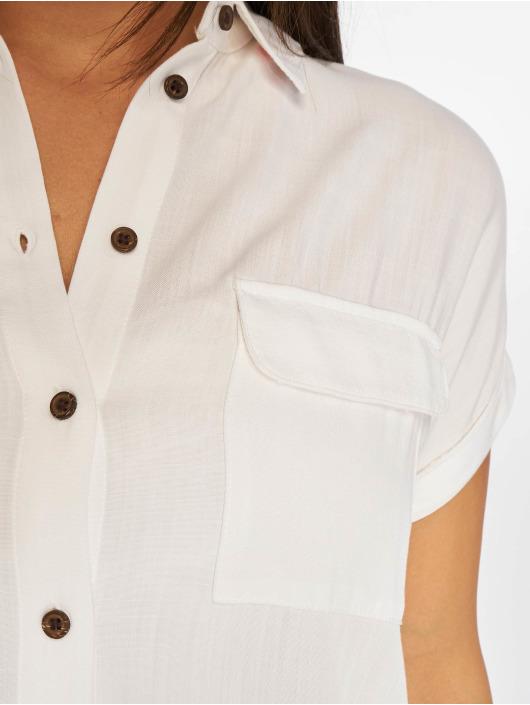 New Look Bluse Jefpatch Pocket weiß