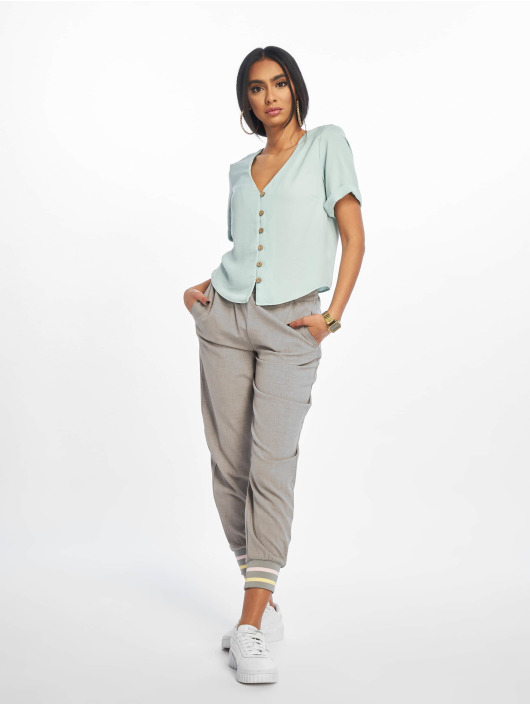 New Look Bluser/Tunikaer Penny Button Thru turkis