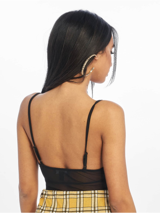 New Look Body Go T Mesh Strappy black