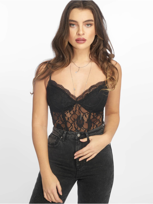 New Go 605394 Look Lace Femme Body Noir OmN8v0wn