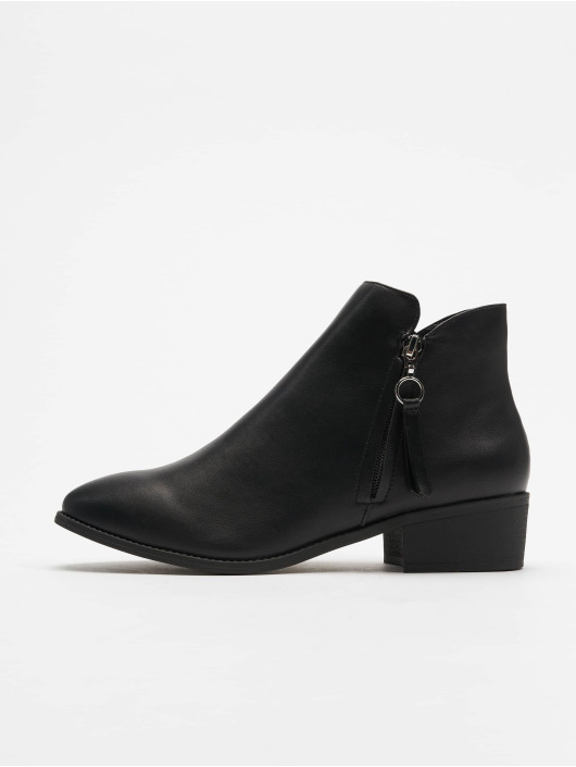 New Look Boots Abbi - Zip Pull Low Casual 35 black