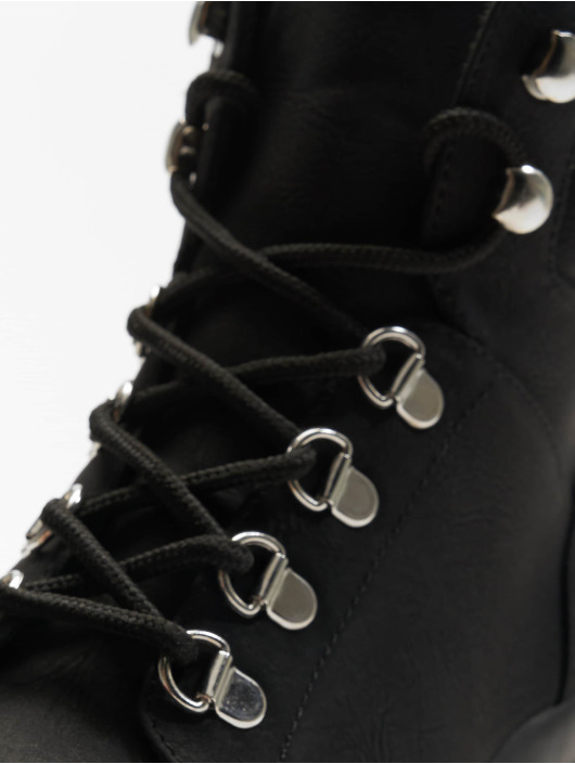 New Look Boots Chunk - Extreme Chunky Lace Up black