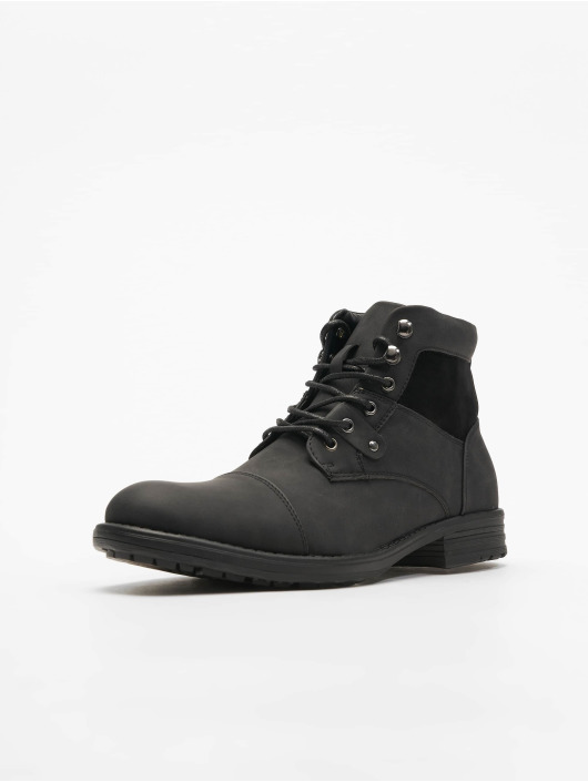 New Look Boots Ryan Military Zip black