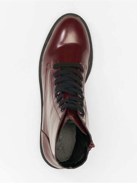 New Look Boots Charles 4 - BX PU Lace Up red