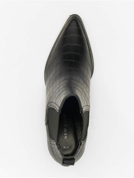 New Look Boots Brook - Croc Chelsea Western 40 schwarz