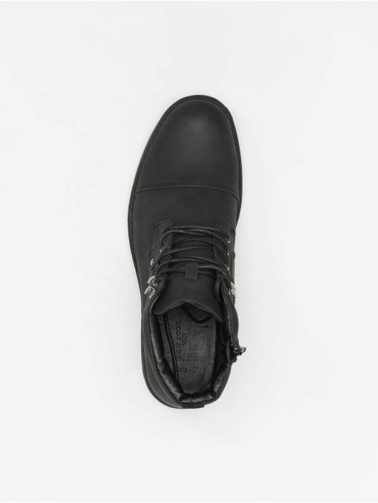 New Look Boots Ryan Military Zip schwarz