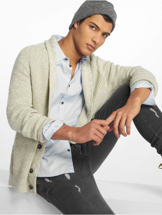 New Look Cardigan Shawl gray