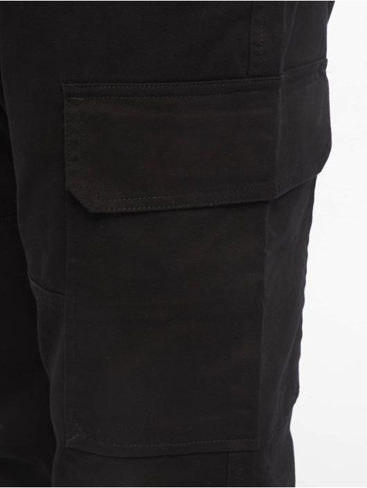 New Look Cargo Half Elasticated black