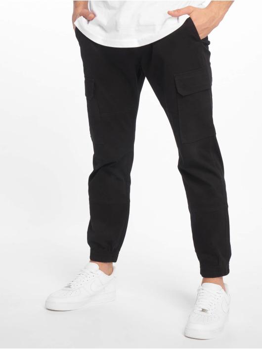 New Look Cargo pants Half Elasticated black