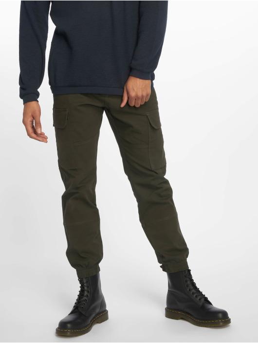 New Look Cargo pants Half Elasticated khaki