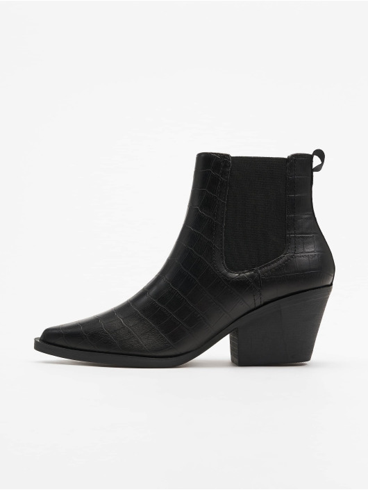 New Look Chaussures montantes Brook - Croc Chelsea Western 40 noir