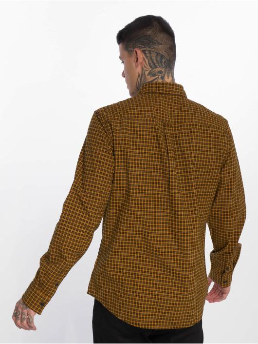 New Look Chemise Longsleeve Entry Mini Check jaune