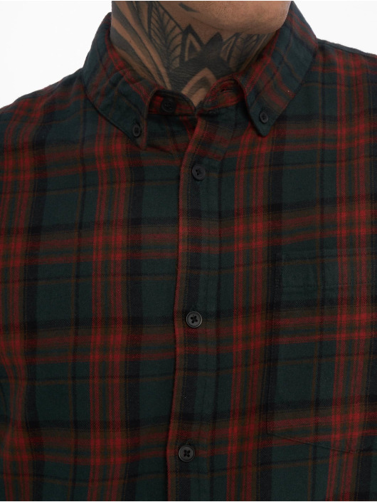 New Look Chemise Longsleeve Red Highlight Check rouge