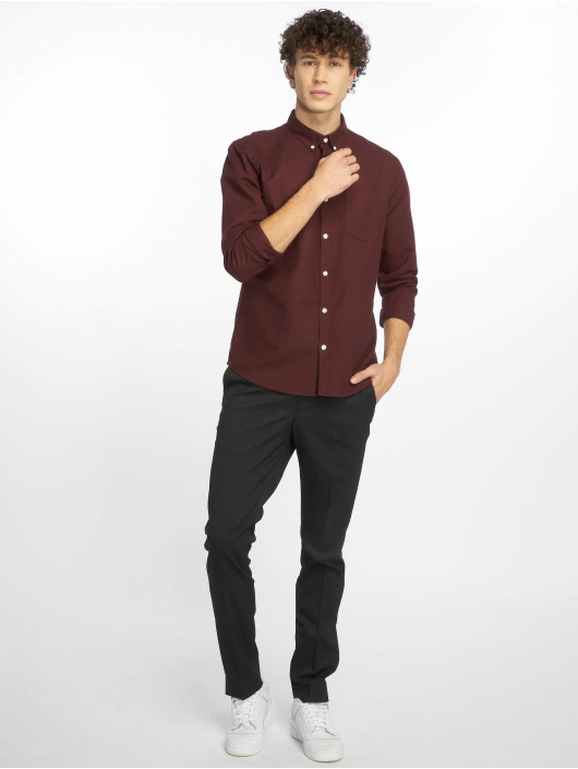 New Look Chemise Longsleeve New Oxford rouge