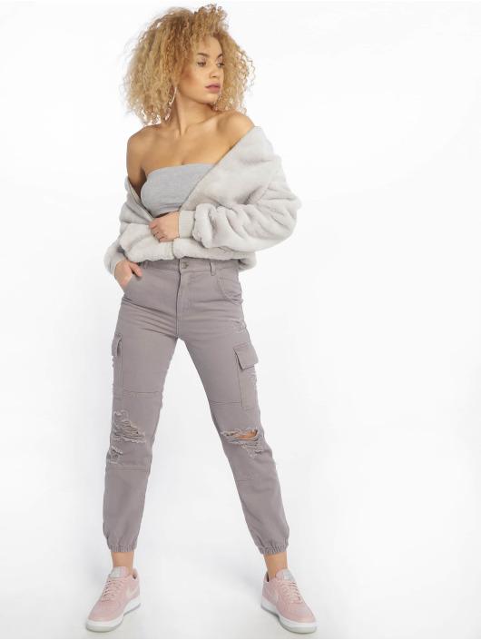 New Look Chino bukser Malibu Ex Rip grå