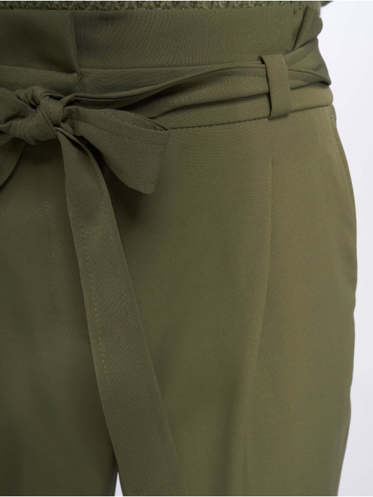 New Look Chino Miller Tie olijfgroen