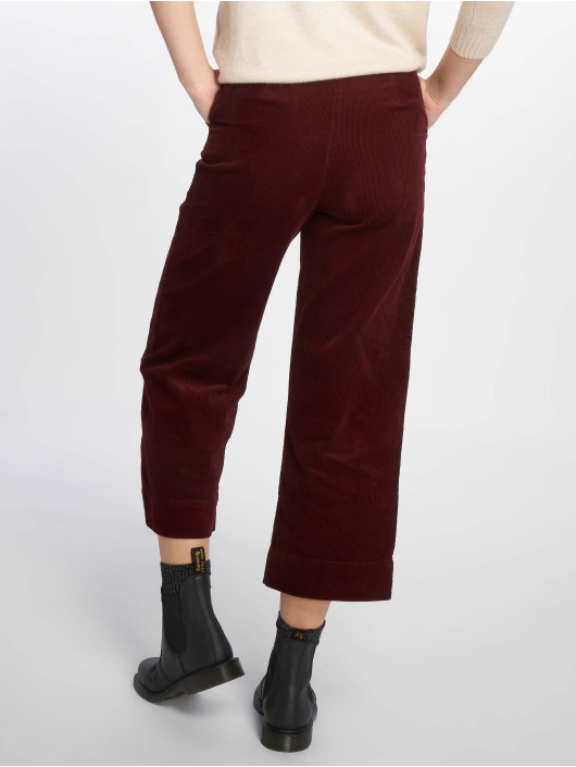 New Look Chino pants Cord Crop red