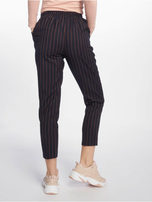 New Look Chinot/Kangashousut ST Pinstripe Pull On sininen