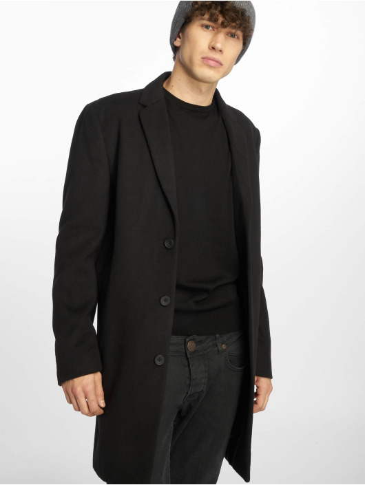 New Look Coats Smart Over black
