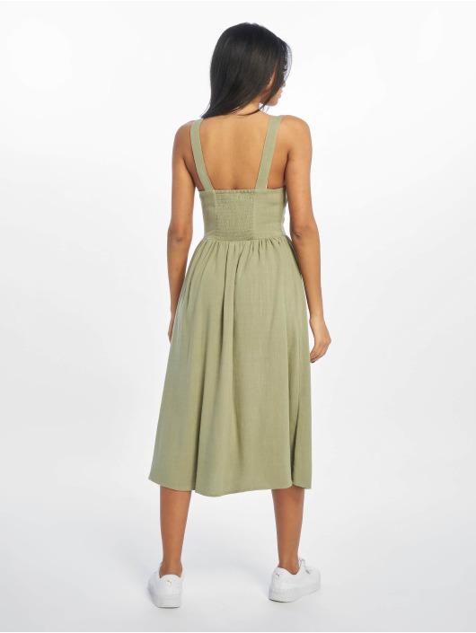 New Look Dress F Bermuda Button Front khaki