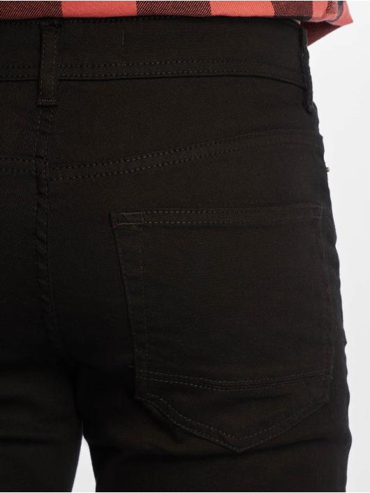 New Look Dżinsy straight fit Black czarny