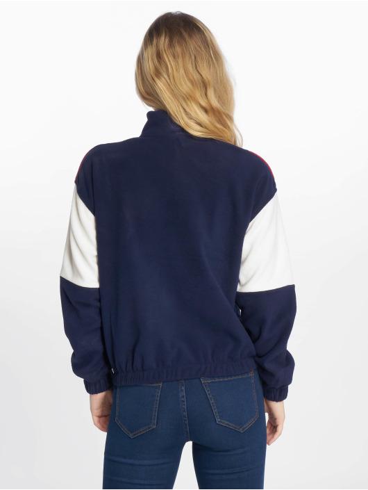 New Look Gensre Half Zip CLBK Polar Fleece blå
