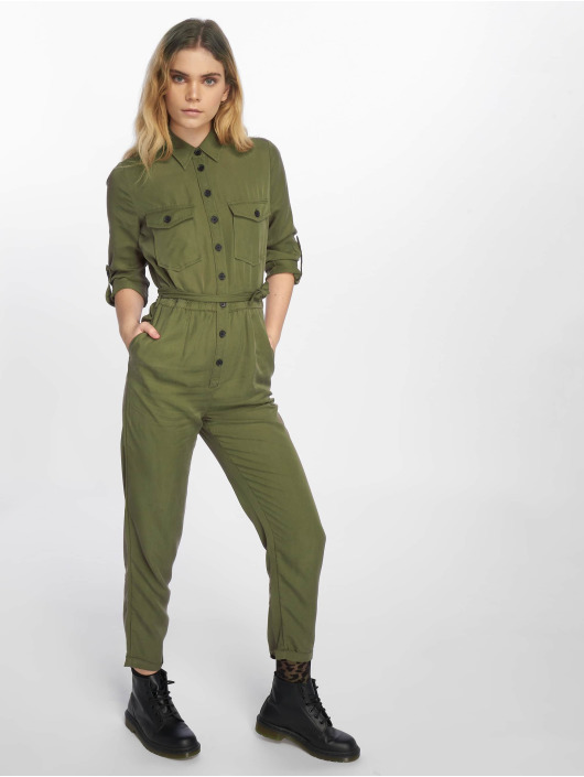 New Look Haalarit ja jumpsuitit F Tencel Boiler khakiruskea