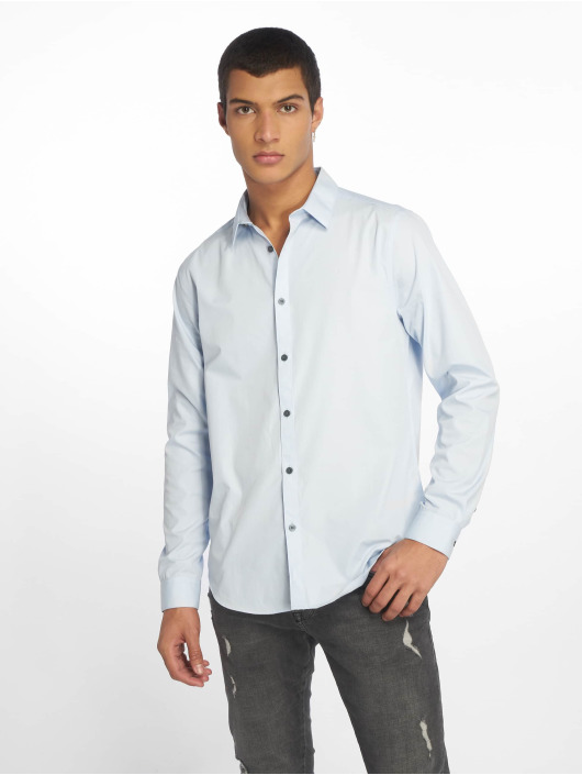New Look Hemd Poplin blau