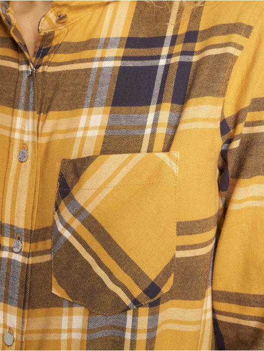 New Look Hemd Stanley Check gelb