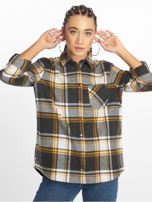 New Look Hemd LI Grey Stanley Check grau