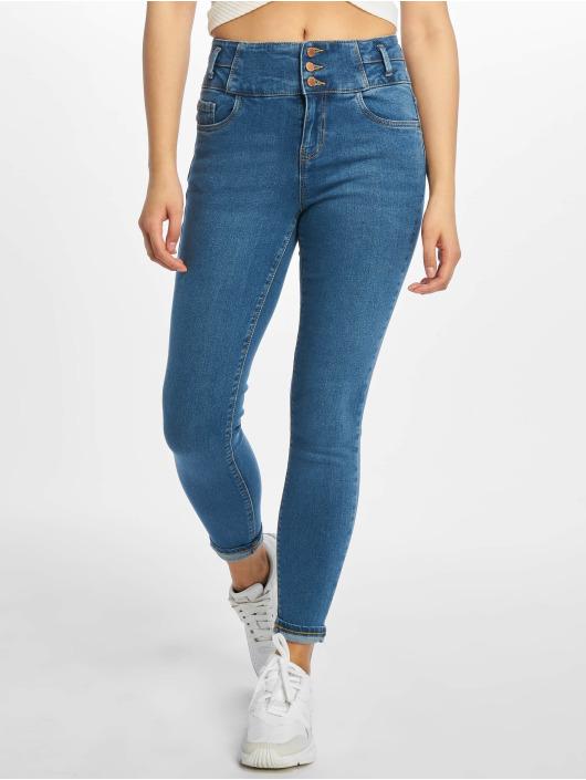 New Look High Waist Jeans Highwaist blau