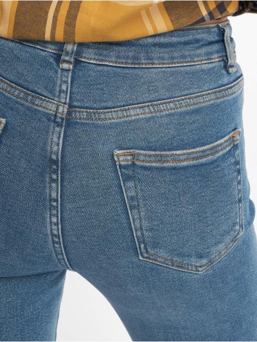 New Look Jean skinny Ripped Cut Off Dicso Boul bleu