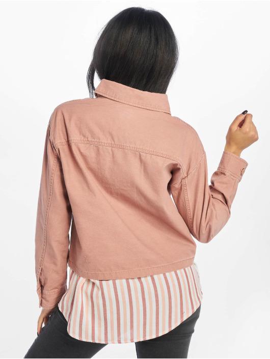 New Look Jeansjacken Bonnie Cropped Utility Shacket rosa